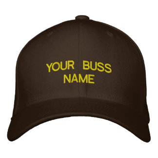 YOUR BUSINESS EMBROIDERED HAT