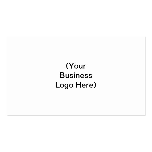 (Your Business Logo Here) Double-Sided Standard Business Cards (Pack Of 100)