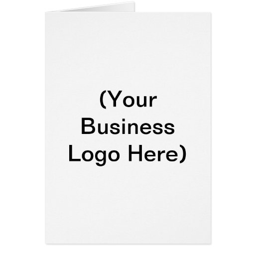 (Your Business Logo Here) Card