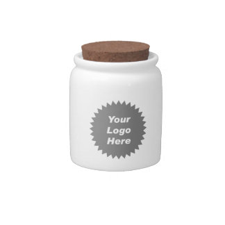 Your business logo here promo candy dish