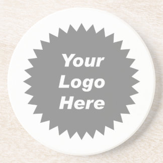 Your business logo here promo coasters