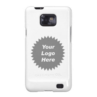 Your business logo here promo galaxy s2 case