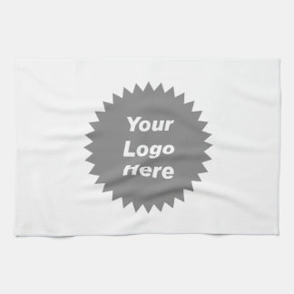 Your business logo here promo hand towel