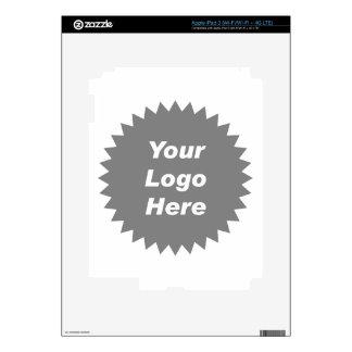 Your business logo here promo iPad 3 skin
