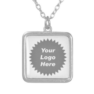 Your business logo here promo necklace