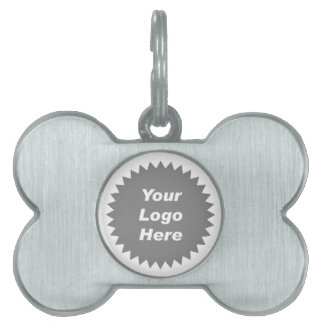 Your business logo here promo pet tags