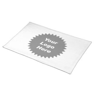Your business logo here promo place mats