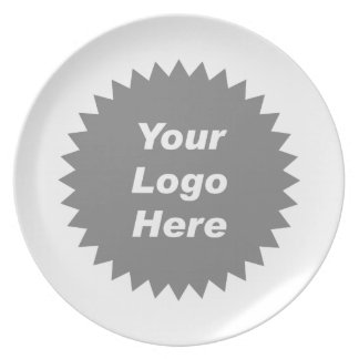 Your business logo here promo plates