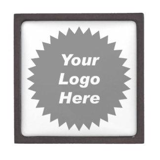 Your business logo here promo premium keepsake boxes