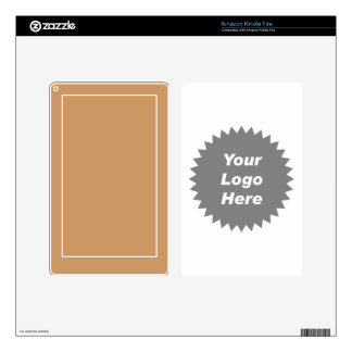 Your business logo here promo skin for kindle fire