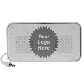 Your business logo here promo speaker system