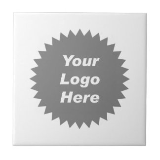 Your business logo here promo tile