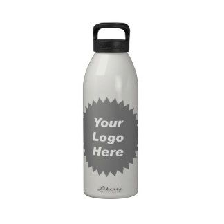 Your business logo here promo water bottles