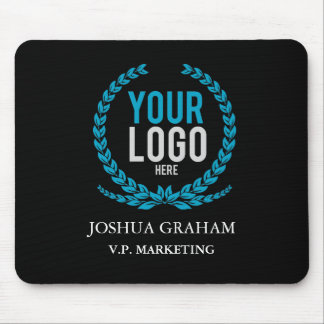 Your Business Logo | Job Title Custom Employee Mouse Pad