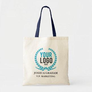 Your Business Logo | Job Title Custom Employee Tote Bag