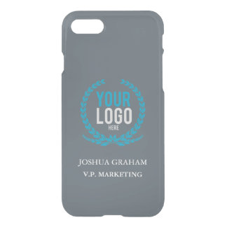 Your Business Logo | Job Title Custom iPhone 8/7 Case