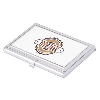 Your Business Logo Metal Business Card Case