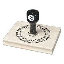 Your Business Logo Personalized Homemade Custom Rubber Stamp