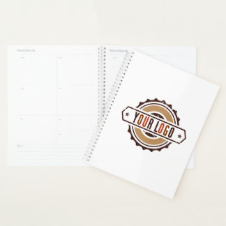 Your Business Logo White Planner