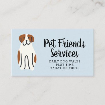 Your Business | Pet Services Business Card