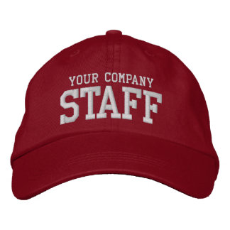 Your business staff promotional marketing employee embroidered baseball hat
