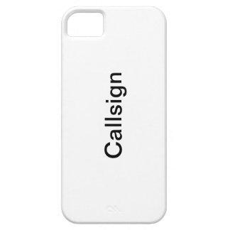 Your Callsign iPhone 5 Case