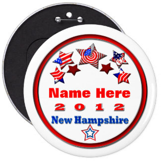 Your Candidate 6 Inch Round Button