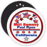 Your Candidate California Pinback Button