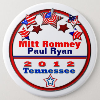 Your Candidate Tennessee Pinback Button