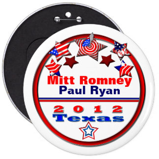 Your Candidate Texas Pinback Buttons