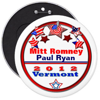 Your Candidate Vermont Pinback Button
