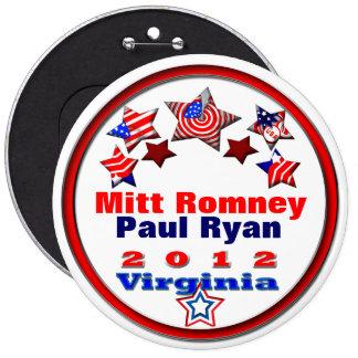 Your Candidates Virginia 6 Inch Round Button