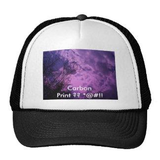 Your Carbon FootPrint Trucker Hat