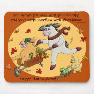 Your Carts Overflow With Abundance. Mouse Pad