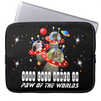 Your Cats in an Alien Spaceship UFO Sci Fi Film Computer Sleeve