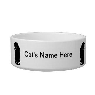 Your Cat's Name Art Nouveau Cat Bowl Arthur Rackha