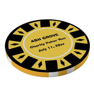 Your Charity Poker Run Participant Chip Poker Chip Set