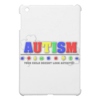 YOUR CHILD DOESNT LOOK AUTISTIC COVER FOR THE iPad MINI