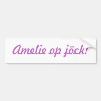 """""""Your child"""" OI jöck! Bumper Sticker"""