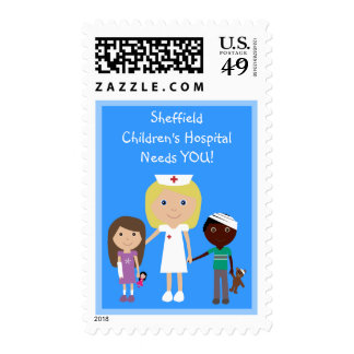 Your Children's Hospital Needs YOU! Postage