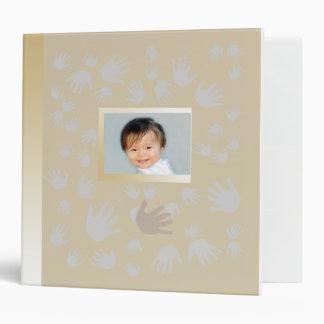 Your child's hands&feet customizable Photo Binder