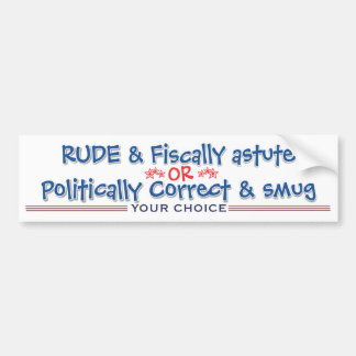 your choice 2016 bumper sticker 1