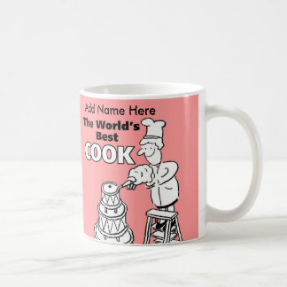 Your Choice of Name - World's Best Cook Coffee Mug