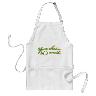 Your choice to smile Apron