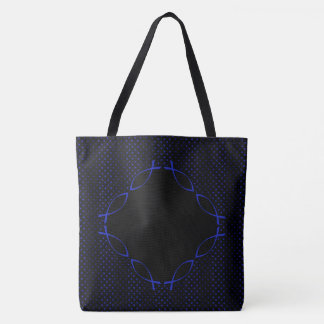 your christian message tote bag