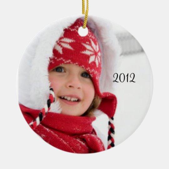 Your Christmas Photo Ornament