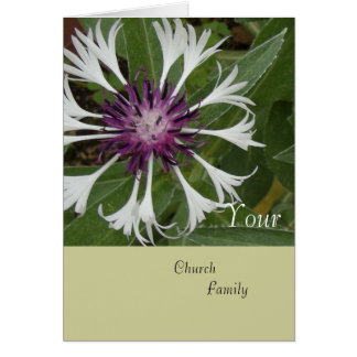 Your Church Family Card
