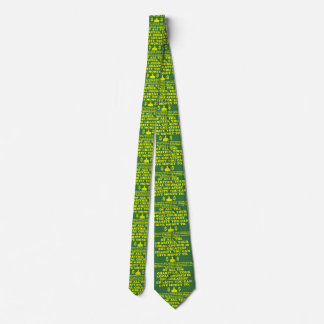 Your Church Is The Greatest Charity. Double Print Neck Tie