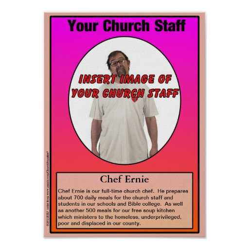 Your Church Staff Gallery Print