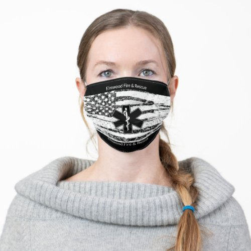 Your Citys Fire and Rescue Reuseable Cloth Face Mask
